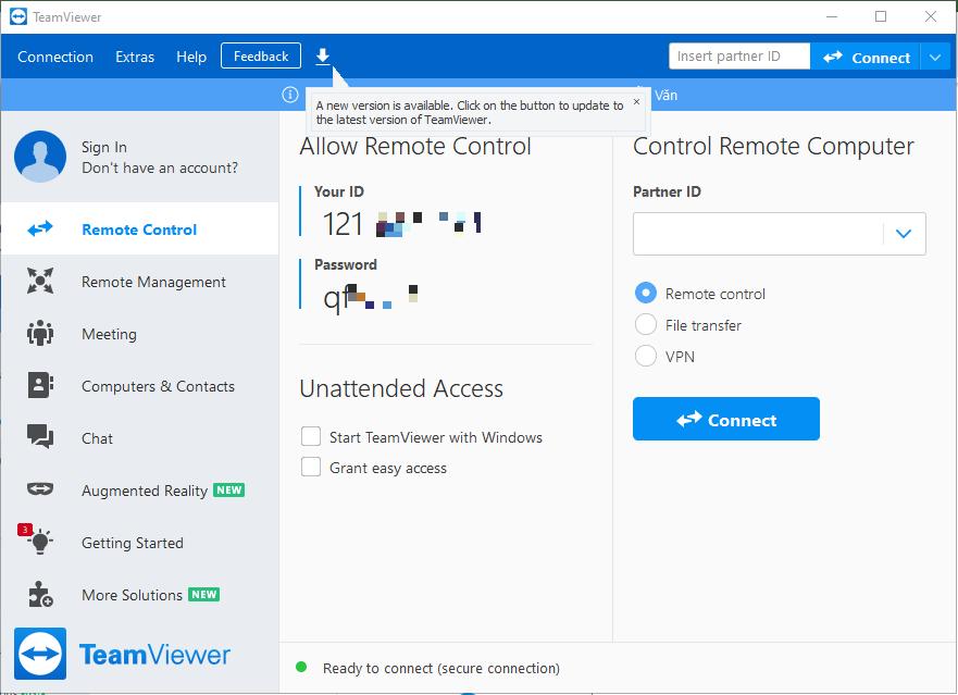 Hướng dẫn cài đặt phần mềm teamviewer