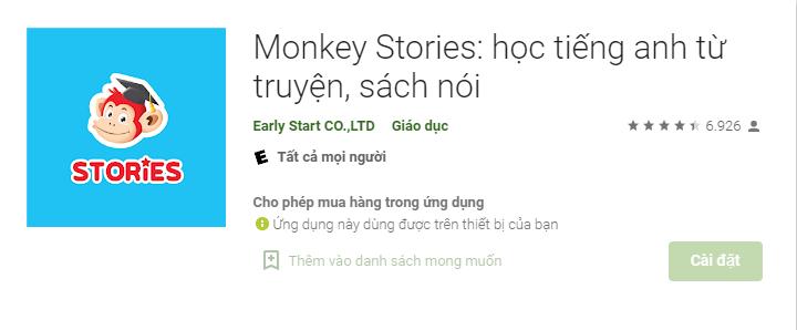 Tải Monkey story trên điện thoại