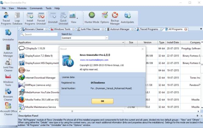 Xóa file cứng đầu với Revo Uninstaller