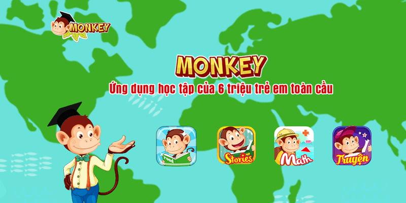 App học tiếng anh Monkey