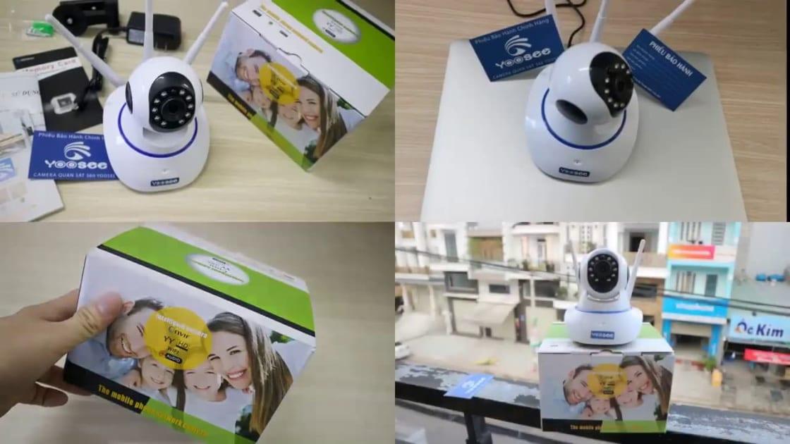 Camera Wifi Không dây Yoosee HD 3 Râu 1080p