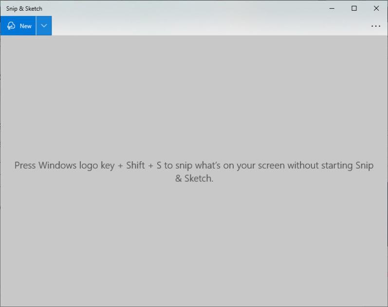 Chụp màn hình máy tính với Snip & Sketch